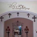 Bless our Comings and Goings Wall Decal