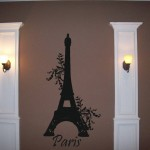 Eiffel Tower Wall Decal-LARGE wall transfer