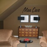 Man Cave Wall Decal