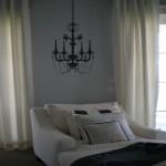 Elegant Chandelier Wall Decal