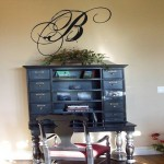 Stunning Script Monogram Wall Decal