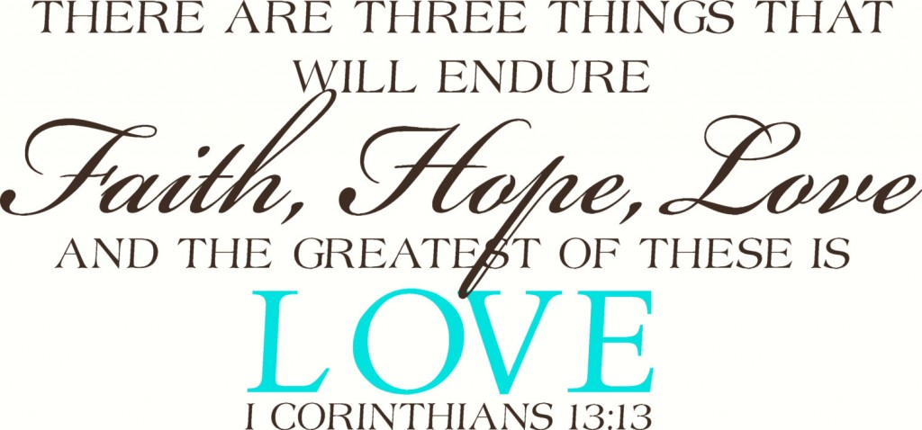 ... CYBERMONDAY2013 Wall Decal Wall Sticker Faith Hope and Love Wall Decal/ Wall Sticker/Wall  sc 1 st  Touch of Beauty Designs Custom Wall Decals & Faith Hope and Love Wall Decal/Wall Sticker/Wall Tattoo - Touch of ...