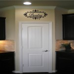 Pantry with Ornate Frame Wall Decal