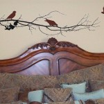 Tree Branch with 3 birds wall decal