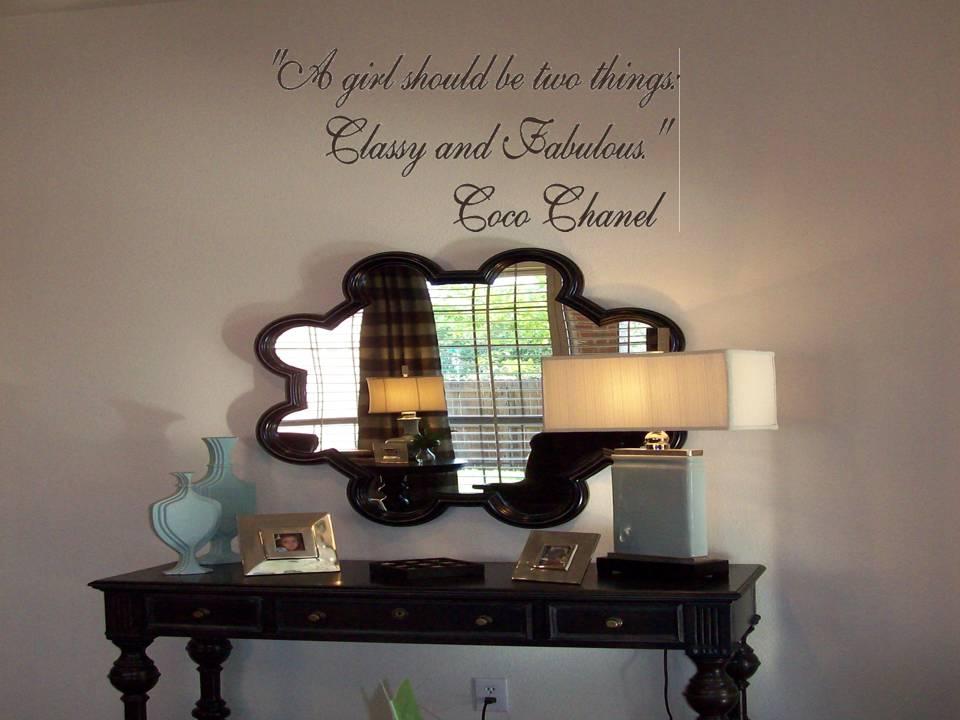 coco chanel interior design quotes photos