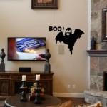 Halloween Boo Ghost Wall Decal