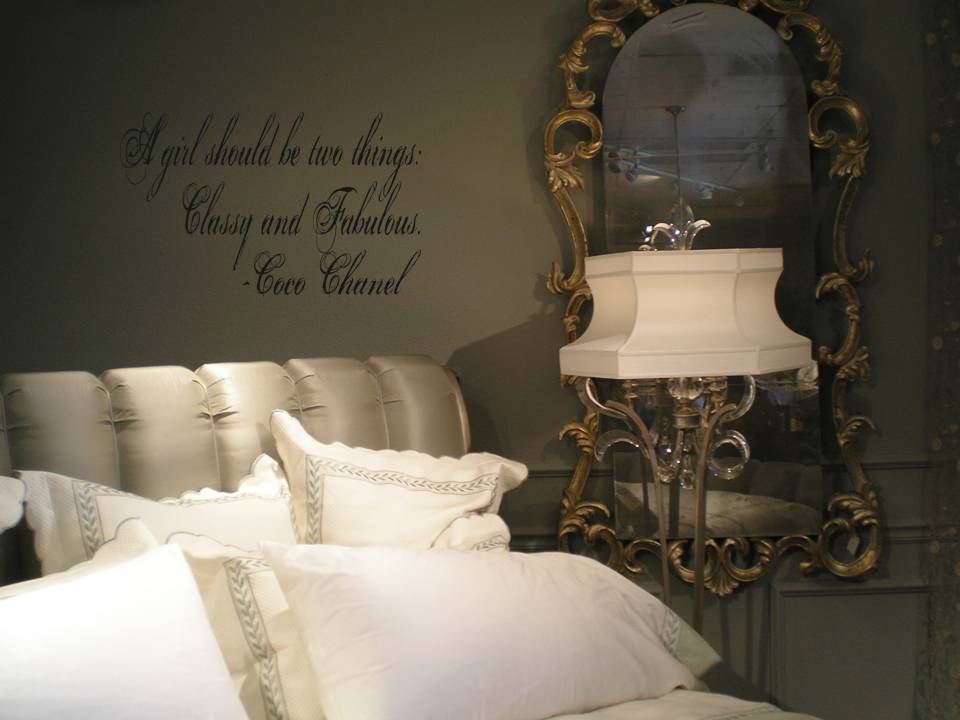 New Coco Chanel Design Touch Of Beauty Designs Custom Wall Decals