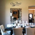 Give Thanks with Wheat Graphic Wall Decal
