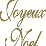 Joyeux Noel Wall Decal