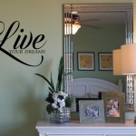 Live Your Dreams Wall Decal