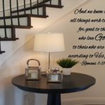 And we know that all things work together Wall Decal