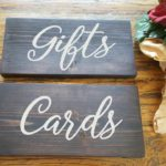 Gifts & Cards Wood Signs