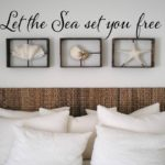 Let the Sea set you free Wall Decal