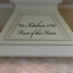 The Kitchen is the Heart of This Home Wall Decal